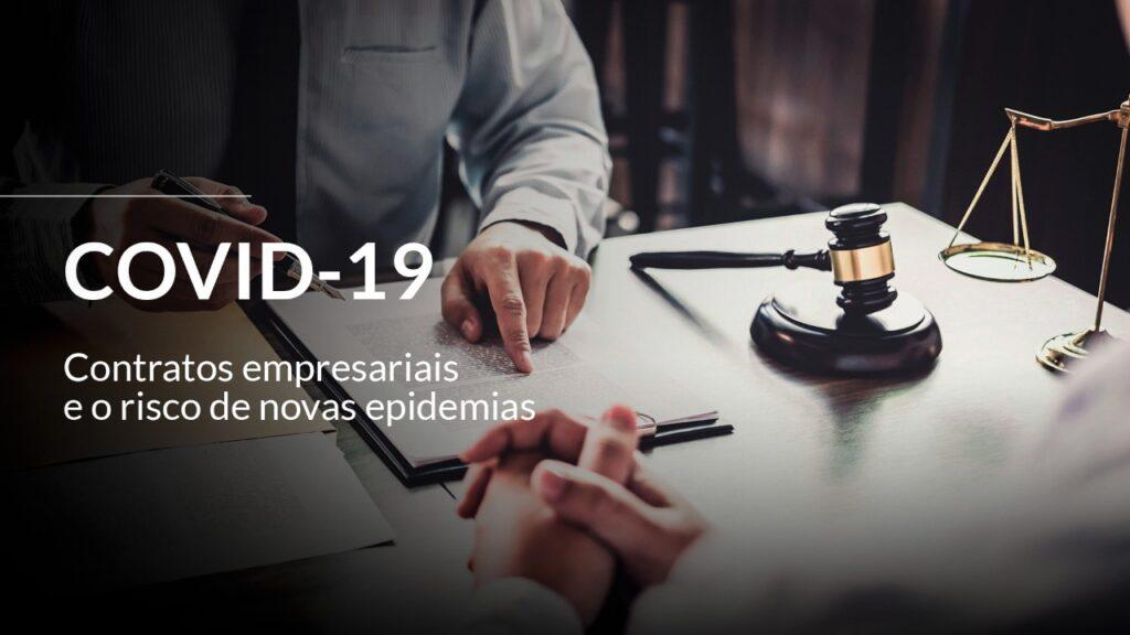 OS CONTRATOS EMPRESARIAIS E O RISCO DE NOVAS EPIDEMIAS 9